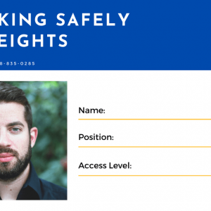Working At Heights Card